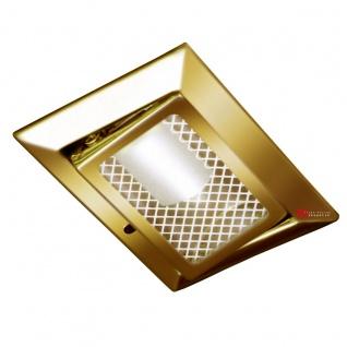Luk Möbel-Einbaustrahler 12V schwenkbar goldfarben Einbaustrahler Einbauleuchte