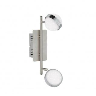 Wofi 7285.04.54.6500 LED Spot 4-flammig 4 x 420lm Nickel-Matt Chrom