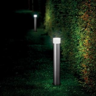Ideal Lux 89775 Venus LED-Pollerleuchte 80cm Edelstahl Aussen-Stehleuchte