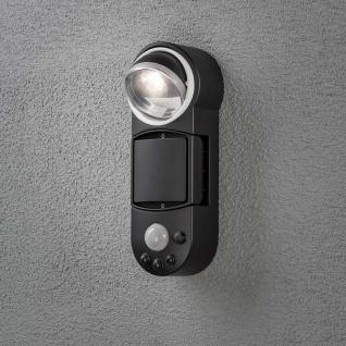 Konstsmide 7696-750 Prato Batterie LED Wandaufbauleuchte mit Bewegungsmelder schwenkbar 12V Schwarz - Vorschau 4