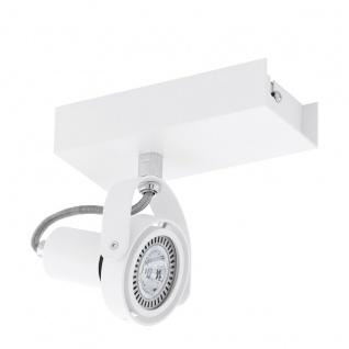Eglo 94646 Novorio 1 LED Spot 1 x 5 W Stahl Alu Weiß