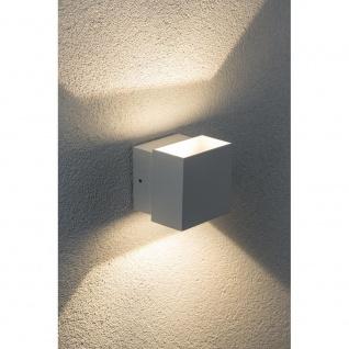 Paulmann Wandaufbauleuchte LED Cybo eckig 2x3W weiß 100x100mm 18003