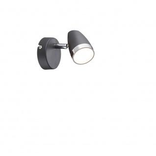 Globo 56110-1 Strahler Metall anthrazit matt LED