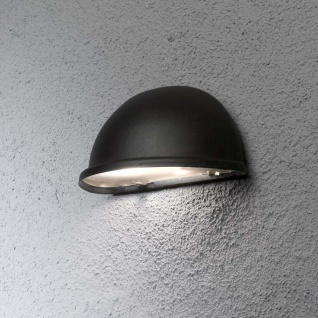 Konstsmide 7325-750 Torino Aussen-Wandleuchte Schwarz Acrylglas