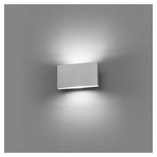 LED Wand-Außenlampe KAULA 3000K IP44 Edelstahl