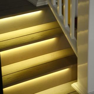 5m LED Strip-Set Möbeleinbau Pro-UH Fernbedienung warmweiss - Vorschau 5