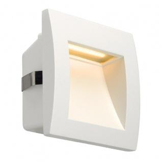 SLV Downunder OUT LED S Wandeinbauleuchte Weiß 233601