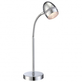 Globo 56206-1T Manjola Tischleuchte Chrom LED