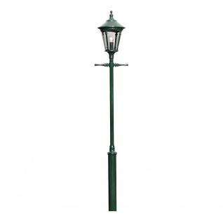 Konstsmide 570-600 Virgo Leuchtenkopf für Mastleuchte Grün rauchfarbenes Acrylglas
