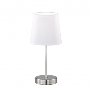 Wofi Cesena Tischleuchte Weiß Tischlampe