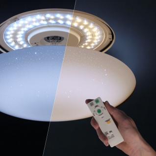 LED-Deckenleuchte Ceres Ø 53cm + Fernbedienung Nachtlicht, Farbwechsel Deckenlampe