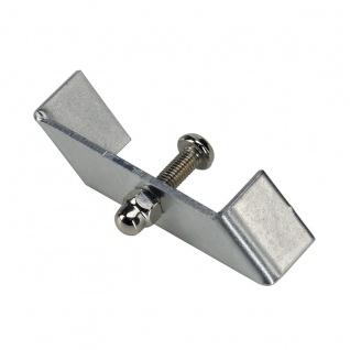SLV Haltebügel für 1-Phasen HV-Stromschiene Einbauversion Nickel-Matt 1 Stück 143230