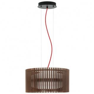 Roverato Design LED Hängeleuchte schwarz 2 x 18W Hängelampe