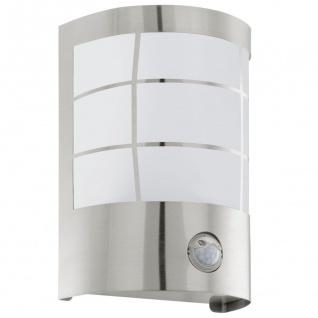 Cerno LED Aussen-Wandleuchte mit Bewegungsmelder Edelstahl Wandlampe - Vorschau 2