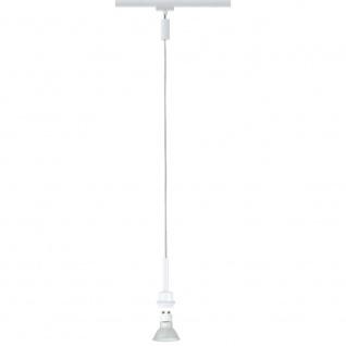 Paulmann URail System DecoSystems LED Pendel Blanko 1x3, 5W GZ10 Weiß 95185