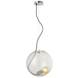 s.LUCE Sphere 30 Glaskugel mit loser Fassung Chrom, Klar // B-Ware