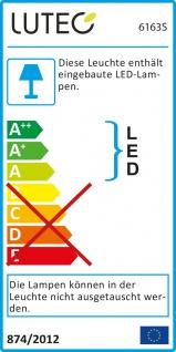 Lutec Meridian LED-Außenwandleuchte mit Bewegungsmelder IP54 800lm Anthrazit - Vorschau 5