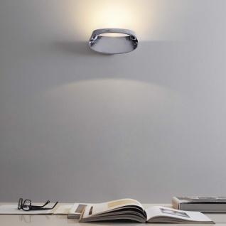 FontanaArte Bonnet LED-Wandleuchte Alu poliert Designerleuchte