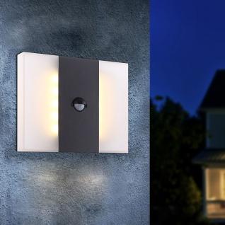 Alcains Sensor LED Wand-Aussenleuchte 680lm Garten Aussen-Wandlampe
