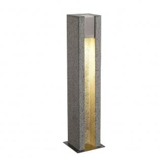 SLV Arrock Slot GU10 Stehleuchte eckig Granit salt & pepper max. 4W LED 231440