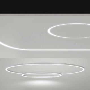 Panzeri Brooklyn Round LED-Ring Ø 100cm 2130lm Weiß - Vorschau 3