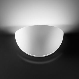 Kolarz Bisquitte Wandleuchte Weiß Wandlampe