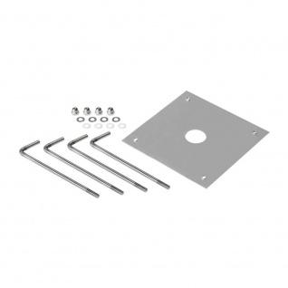 SLV Betonanker für Bendo Outdoor Standleuchte Silberfarben 231849