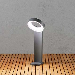 Konstsmide 7274-370 Asti LED Wegeleuchte 1400lm 5000K Anthrazit opales Acrylglas