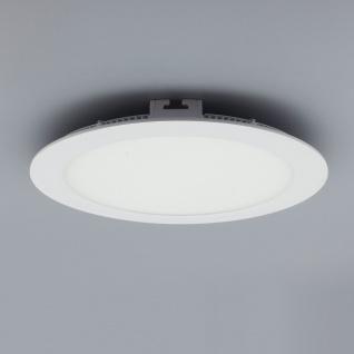 Licht-Design 30372 Einbau LED-Panel 1440lm Ø 22cm Warm Weiss