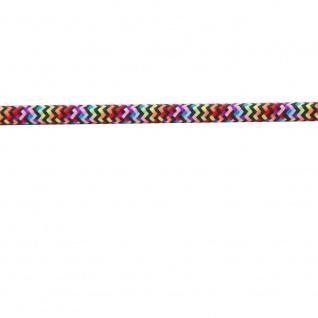 Textilkabel multicolor 2 x 0, 75mm 1 Meter Zubehör