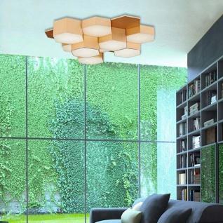 Nova Luce Pettine LED Design Deckenleuchte 50cm 43W 3000K Gold-satiniert