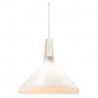 Design for the People Hängeleuchte Float Nordic Ø 27cm Opalglas Eiche Pendellampe