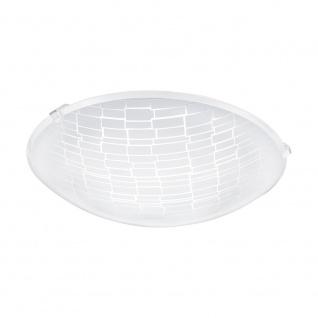 Eglo 96084 Malva 1 LED Deckenleuchte Ø 24cm 950lm Weiß Klar