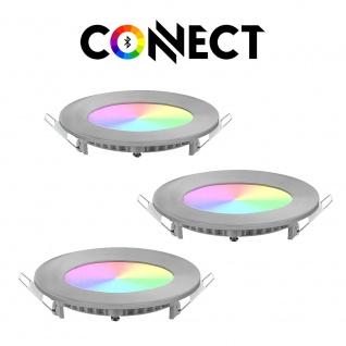 Connect LED 3er-Set Einbaustrahler 1080lm RGB+CCT