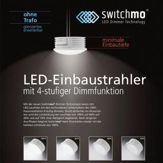 LED Switchmo / dimmbares Leuchtmittel für Spots / 350 Lumen / 5, 5 W warmweiss