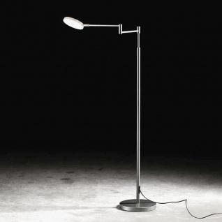 Holtkötter 9656-1-62 Plano B LED-Stehleuchte 140cm Tastdimmer 2000lm Alu