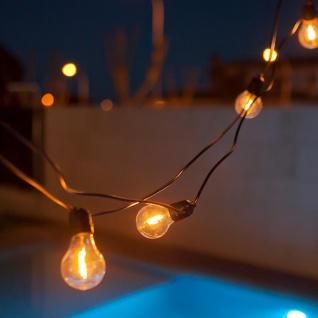 Licht-Trend Girlande Allegra 10-flammig IP44