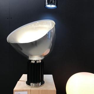 FLOS Taccia Small LED Tischleuchte Schwarz