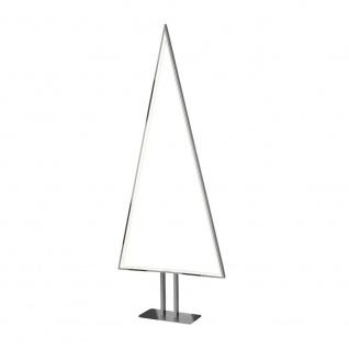 LED Pine 100cm Silberfarben