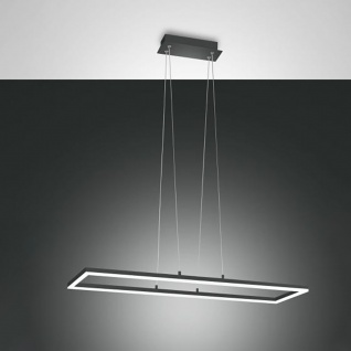 Fabas Luce Bard LED Pendelleuchte 4680 lm Anthrazit Deckenleuchte