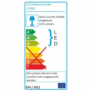 SLV 113961 New Tria LED 3W DL Square Set Downlight Weiss-Matt 38° 3000K inkl. Treiber Clipfed. - Vorschau 4