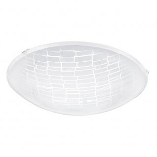 Eglo 96085 Malva 1 LED Deckenleuchte Ø 31cm 950lm Weiß Klar