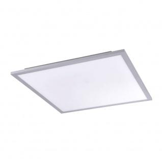 Licht-Trend Q-Flat 45 x 45cm LED Deckenleuchte 3000K Silber LED Deckenlampe