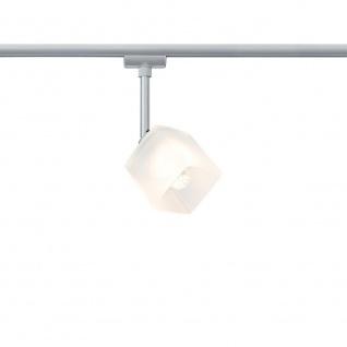 Paulmann URail Syst. Light&Easy LED Spot Quad 1x3W GU10 Chrom matt/Weiß 230V Metall/Glas