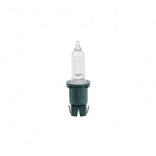 LED Ersatzbirne 3er-Blister warmweiß 3V 0.06W grüne Steckfassung