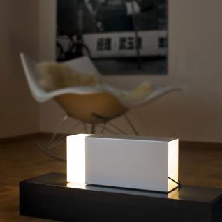 Moree Eraser 380 Tischleuchte Silber Tischlampe
