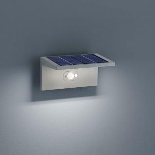 Helestra LED Solar Außen-Wandleuchte Drift mit Sensor IP54 Solar Gartenlampe Gartenleuchte