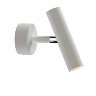Nordlux MIB 3 LED Wandleuchte Weiß, Chrom - Vorschau 4