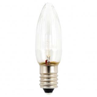 LED Birne 3er-Blister warmweiß 6V 12W E10 Schraubgewinde