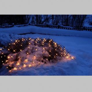 System LED Netz-Extra 100teilig Birnchen: warm white 2x1 m outdoor 465-16